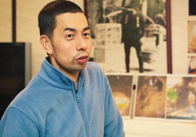 Minoru Tanaka of Tofu-no-Futaba in Tokyo