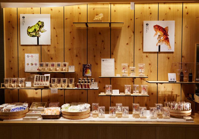 Solamachi Ameshin store at Tokyo Skytree Town.