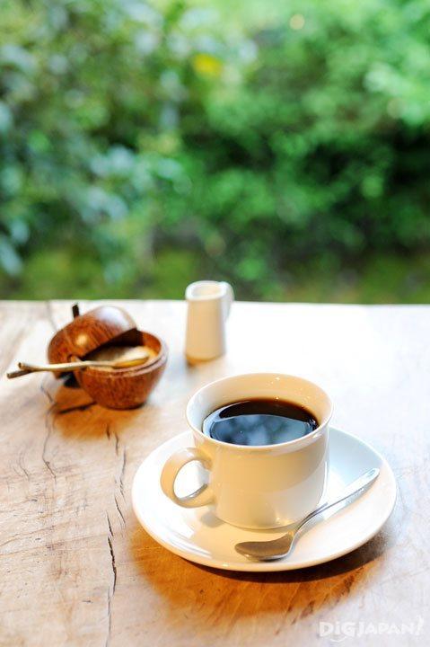 Organic maya vinic coffee at Cafe Slow
