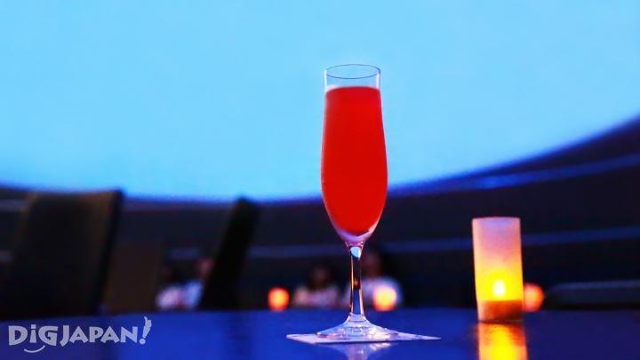 星夜紅酒雞尾酒(Starry Bellini)/800日元