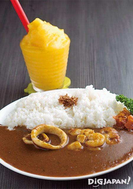 나오시마 레스토랑 Cin.na.mon '나오시마 카레'