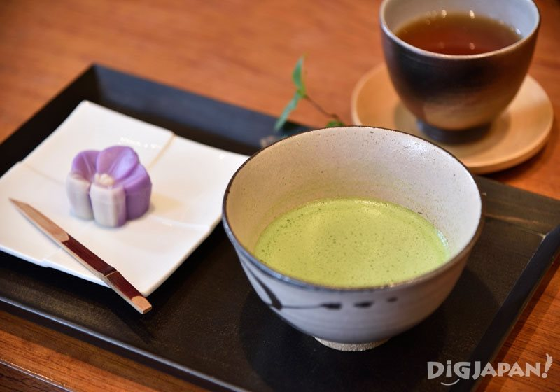 築地丸山 寿月堂 築地本店_抹茶初音(薄茶)