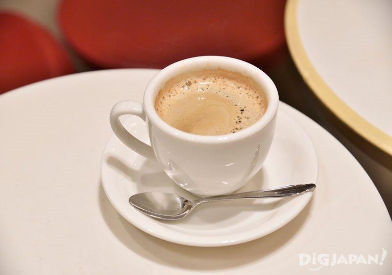 米本咖啡的现冲咖啡