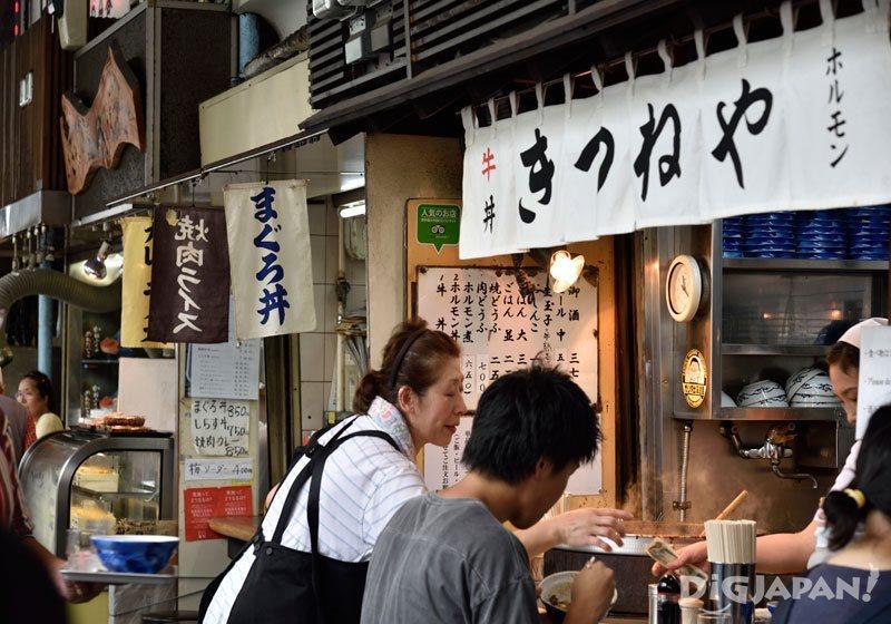 Yatai at Tsukiji Market