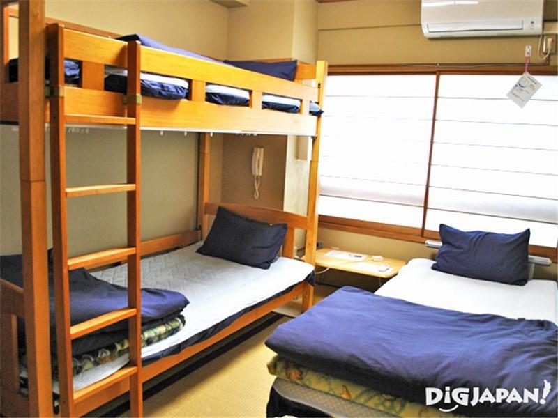 Tokyo Sumidagawa Youth Hostel_ห้อง3คน