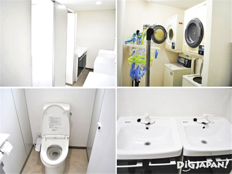 Tokyo Sumidagawa Youth Hostel_ห้องน้ำ2