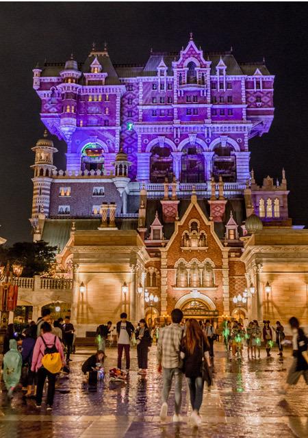 도쿄 디즈니씨 할로윈 타워 오브 테러