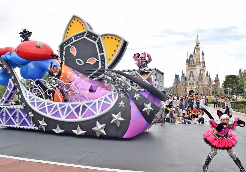 東京ディズニーランド ハロウィーン・ポップンライブ_スティッチ