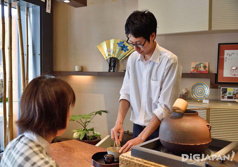 เซตชาเขียวมัทฉะ ร้านสึคิจิมารุยามะ จุเกทสึโด1