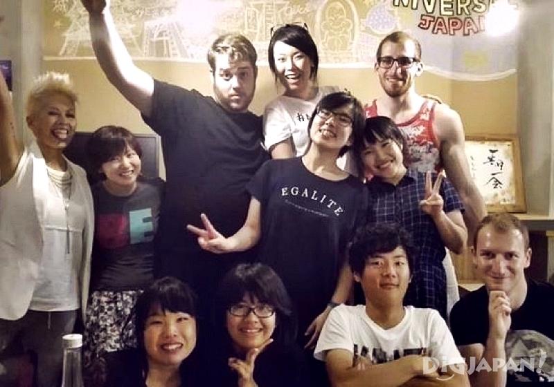 오사카 추천 게스트하우스 J-hoppers 파티