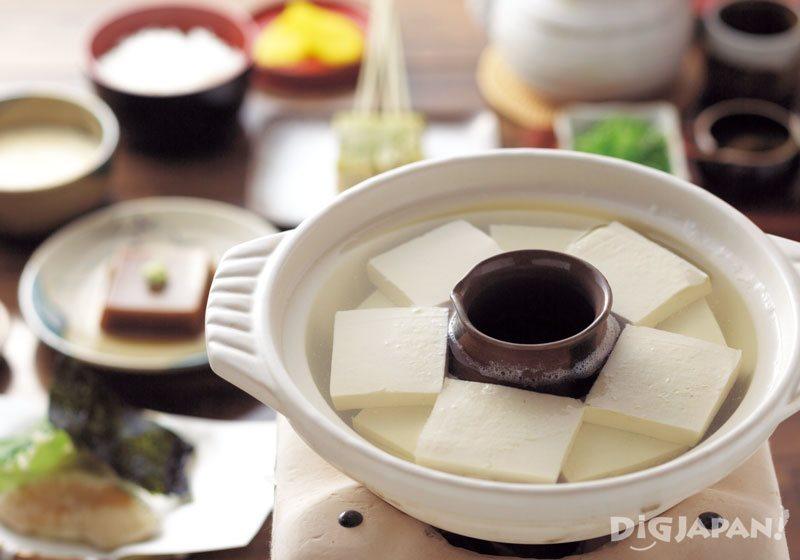 Yudofu Hot Pot: Yudofu