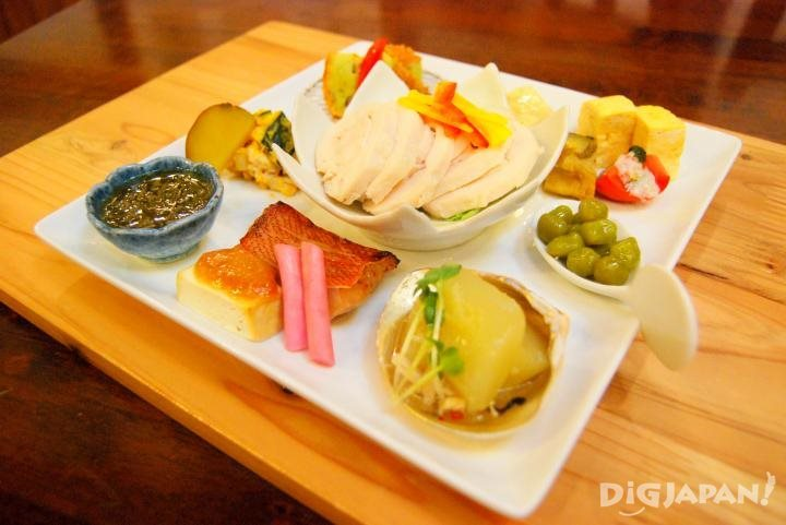 每天都有使用7~9種發酵食品做成的料理