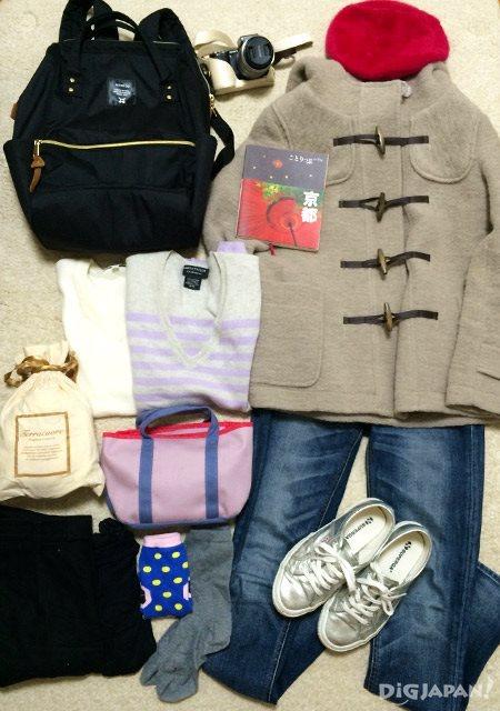 12月京都赏枫穿着