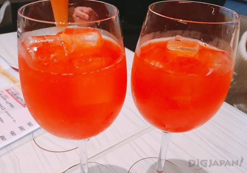 我的法國式果汁(粉紅葡萄柚氣泡果汁)