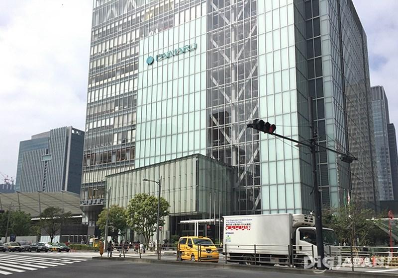 도쿄역의 다이마루 백화점