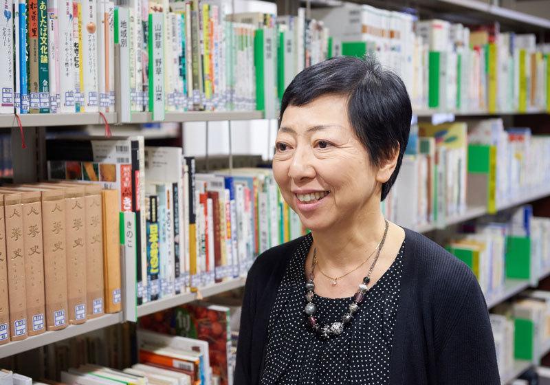 公益財團法人味之素食文化中心專務理事津布久孝子小姐