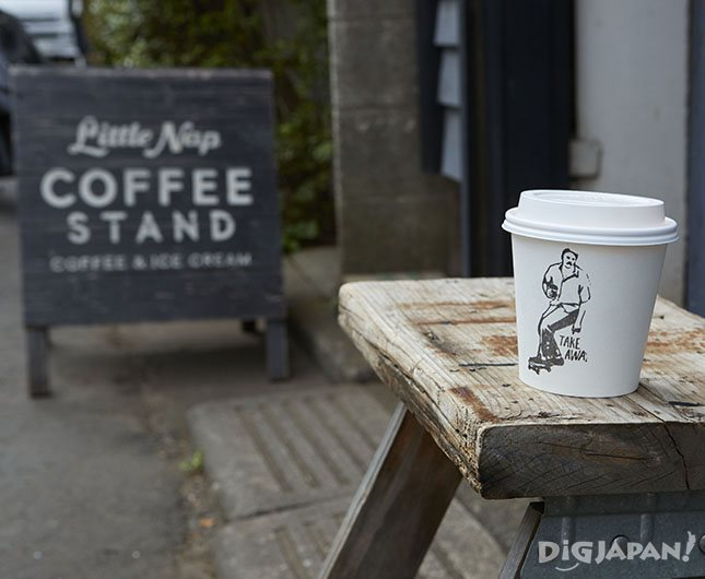 Little Nap COFFEE STAND店外长椅