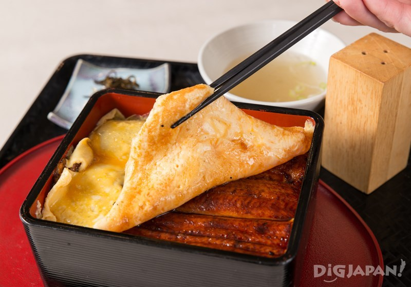 きっしりうな重(鰻魚飯)2900日元