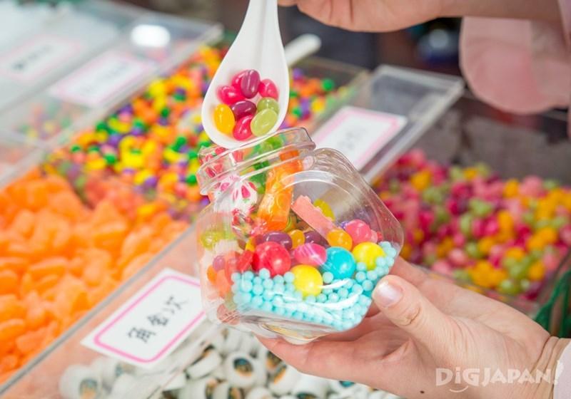 菓子屋橫丁盒裝糖果