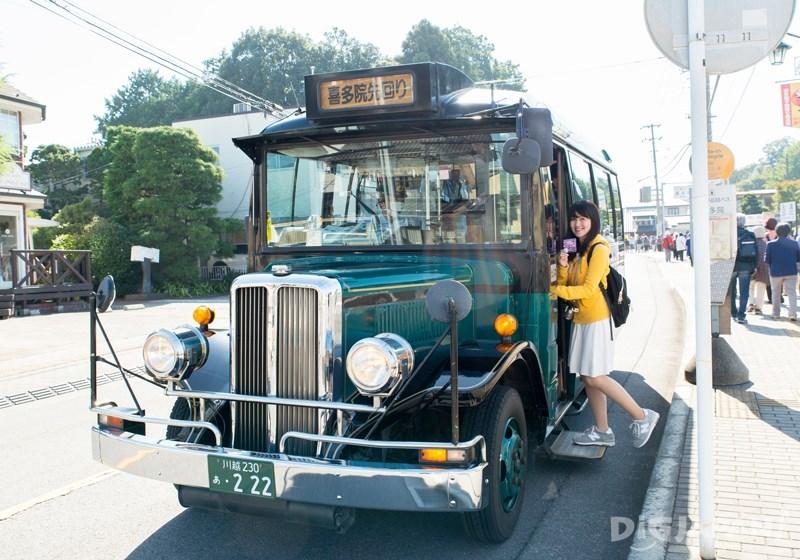小江戸巡迴巴士