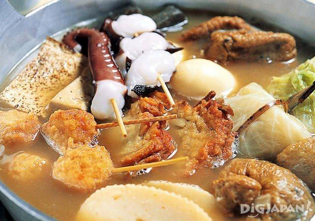 Japanese hot pot: oden