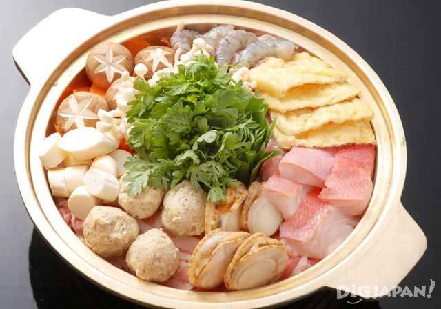 Japanese hot pot: chanko nabe