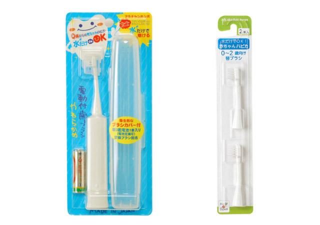 Hapika แปรงสีฟันเด็กอ่อน 0 ขวบ (Akachan Honpo)