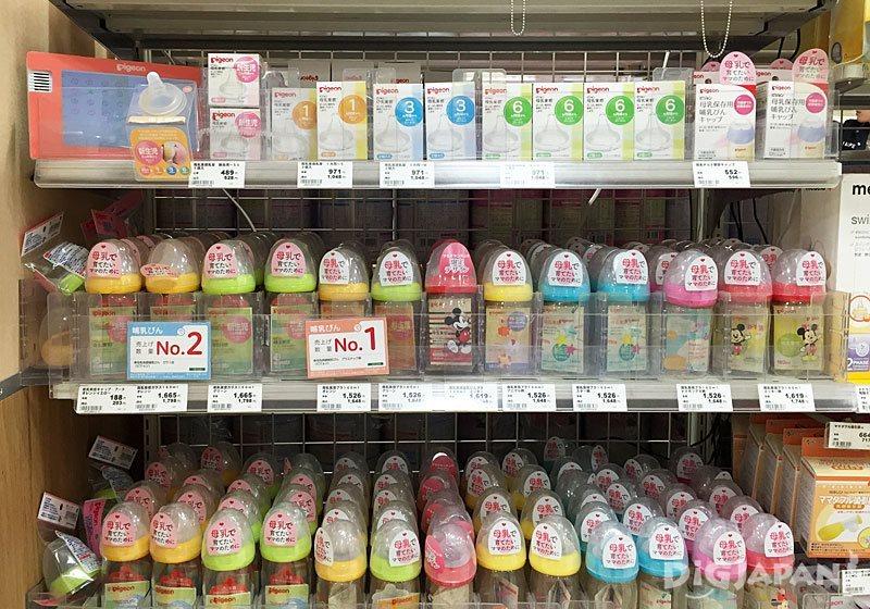 アカチャンホンポ(嬰兒本舖)_餵奶用品