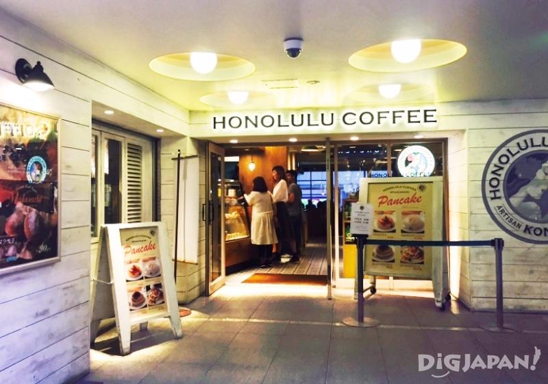 오사카 도톤보리 호놀룰루 카페_외관