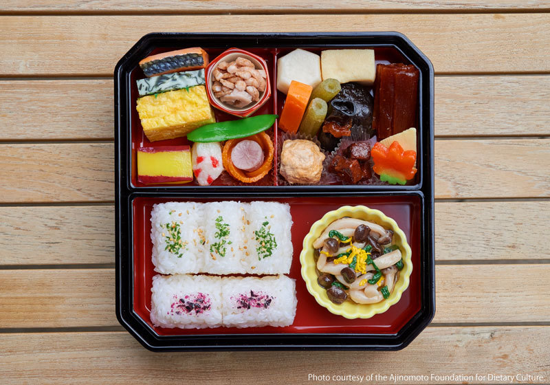 The makunouchi bento today