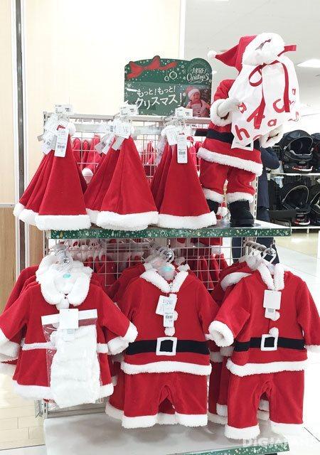 アカチャンホンポ(嬰兒本舖)_聖誕老人兒童装