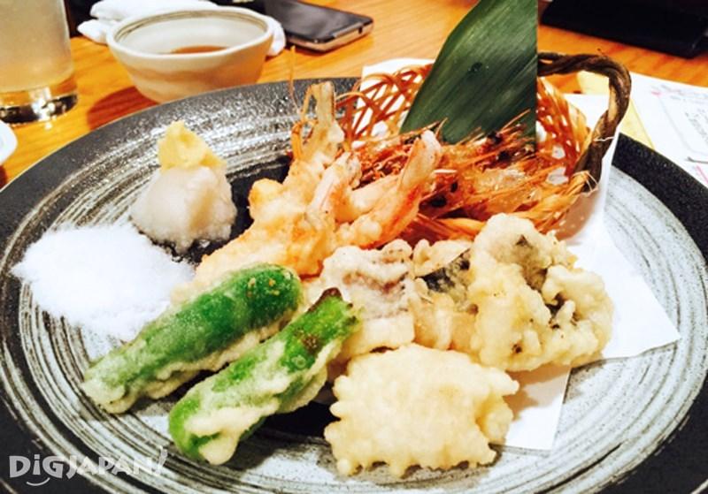 日式天婦羅料理