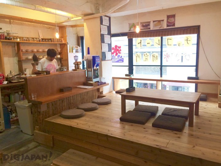 Inside of the Chocolate Laboratory in Osaka