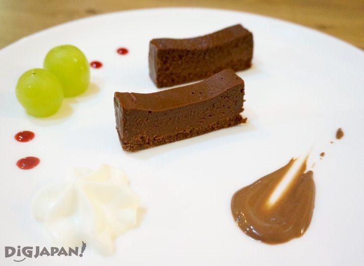 Terrine Chocolat Tabekurabe Plate
