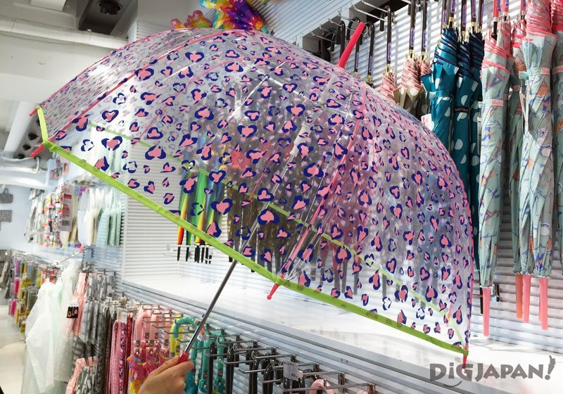 Cute umbrellas at ASOKO