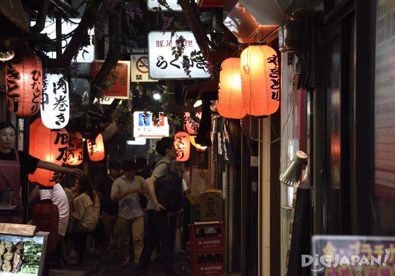 Inside Omoide Yokocho