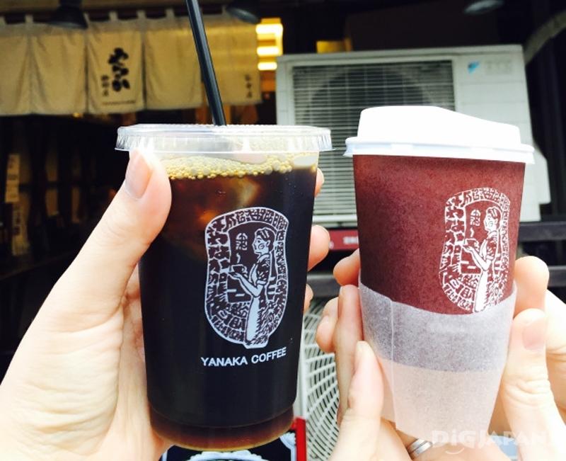 谷中咖啡店冰咖啡