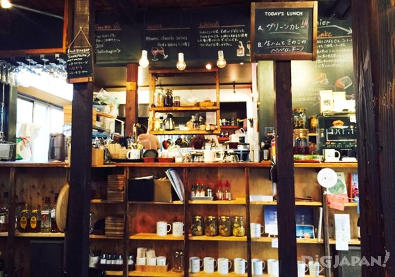 HAGI CAFE店內