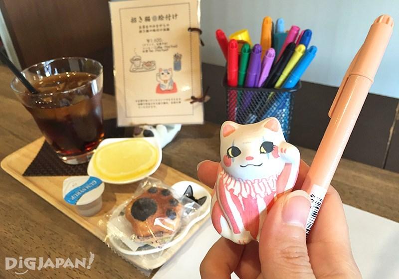 カフェ猫衛門_オリジナルの招き猫