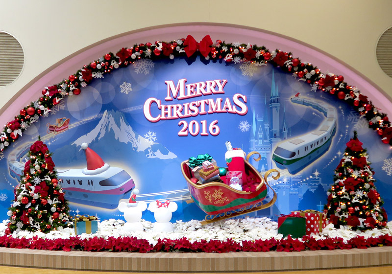 Disney Resort Line Christmas decoration