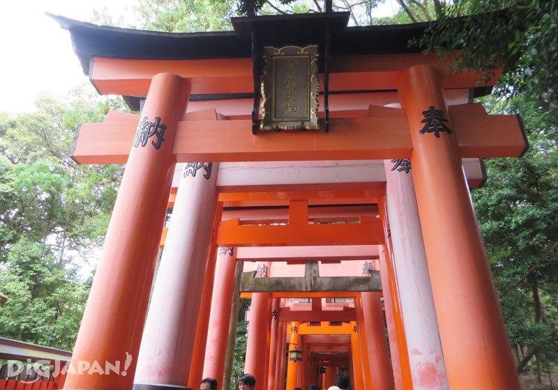 Torii at Fushim Inari Taisha Shrine
