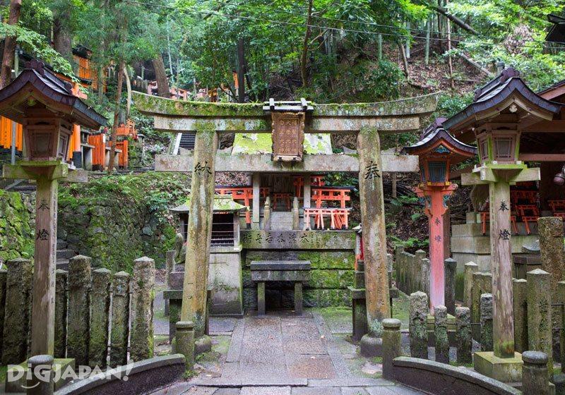 A sub-shrine of Fushimi Inari Taisha Shrine