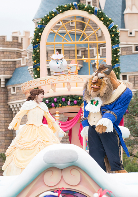 Beauty and the Beast at Tokyo Disneyland