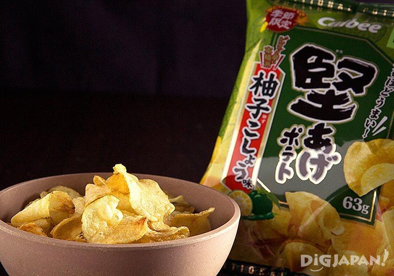 柚子胡椒口味洋芋片