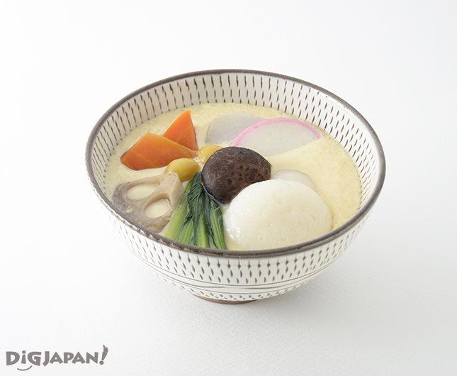 福岡県朝倉市郡地域の蒸し雑煮