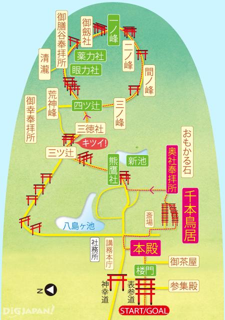 伏見稲荷大社_MAP
