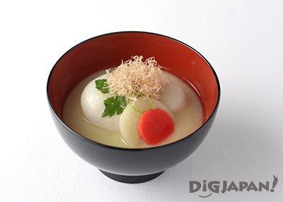 京都の白みそ雑煮