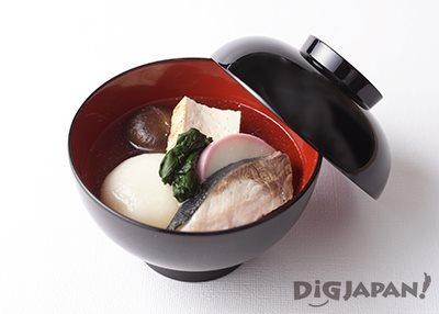 福岡・博多のブリ雑煮