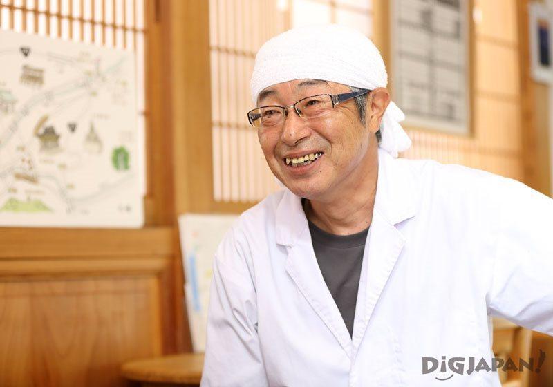 Ohashi, owner of Mamesan in Niigata