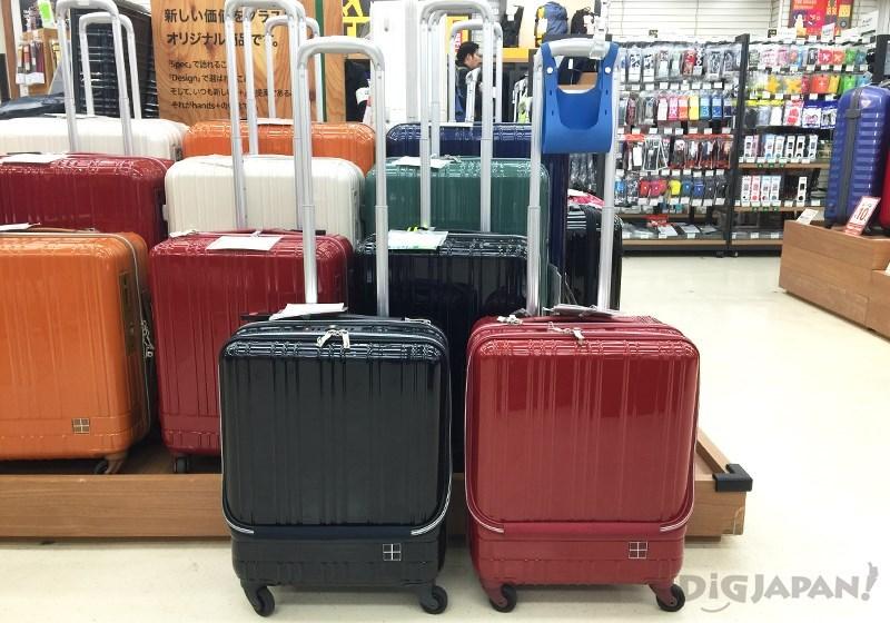 前開式行李箱1